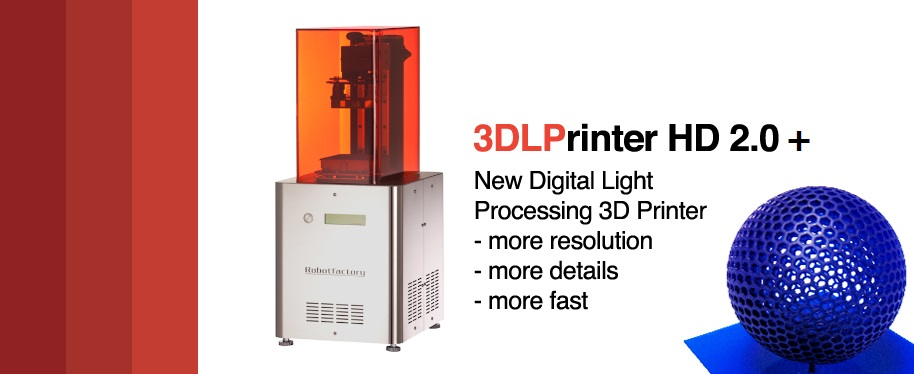 3DLPRINTER-HD 2.0+